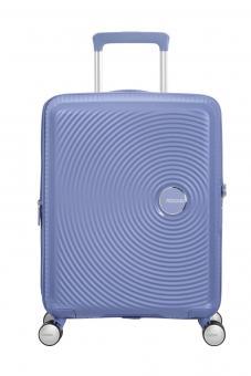 American Tourister Soundbox Trolley S 4R 55cm, erweiterbar Denim Blue