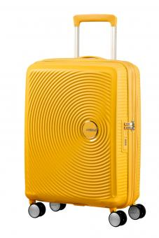 American Tourister Soundbox Trolley S 4R 55cm, erweiterbar Golden Yellow