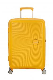 American Tourister Soundbox Trolley S 4R 55cm, erweiterbar Golden Yellow
