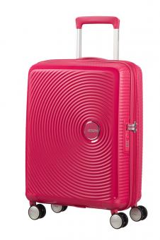 American Tourister Soundbox Trolley S 4R 55cm, erweiterbar Lightning Pink