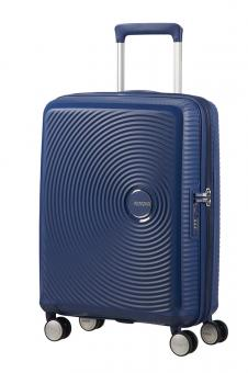 American Tourister Soundbox Trolley S 4R 55cm, erweiterbar Midnight Navy