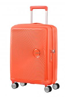 American Tourister Soundbox Trolley S 4R 55cm, erweiterbar Spicy Peach