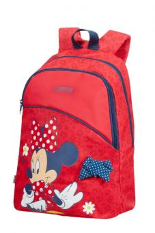 American Tourister New Wonder Backpack S+ Pre-School Disney Minnie Bow