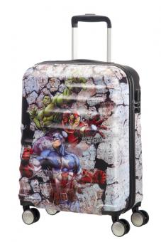 American Tourister Wavebreaker Disney Spinner 55/20 Marvel Avengers Rock