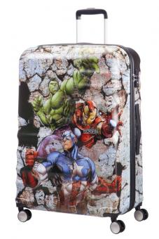 American Tourister Wavebreaker Disney Spinner 77/28 Marvel Avengers Rock