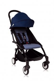 Babyzen Yoyo+ 6+ Textilset für Kleinkinder air france blue