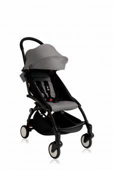 Babyzen Yoyo+ 6+ Textilset für Kleinkinder grau
