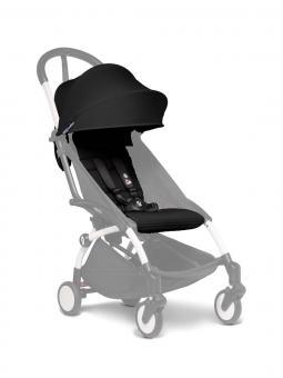 Babyzen Yoyo 6+ color pack Textilset für Kleinkinder schwarz