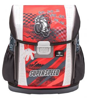 Belmil 'Customize-Me' Schulranzen Set 4-teilig 2020 Super Speed