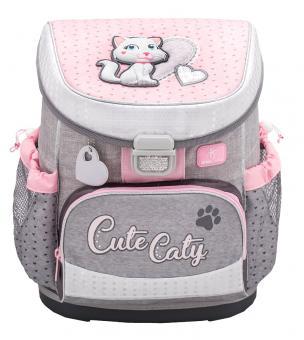 Belmil 'Mini-Fit' Schulranzen Set 4-teilig *Glitzer Edition* Cute Caty
