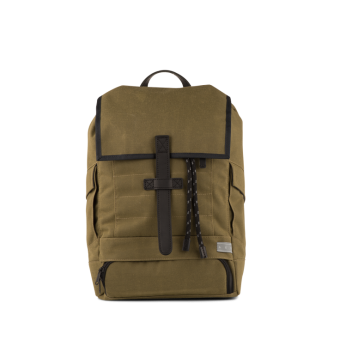 A E P Beta Special Topdown Rucksack mit Laptopfach Imperial Green