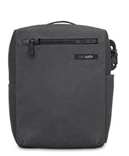 """pacsafe Intasafe Crossbody Anti-theft 10""""tablet bag Charcoal"""