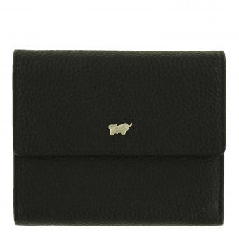 Braun Büffel ASTI RFID Geldbörse M 8CS schwarz