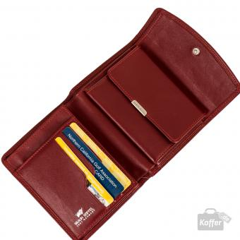 Braun Büffel GOLF Geldbörse 92444 Rot