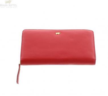 Braun Büffel MIAMI Geldbörse 43155 Rot