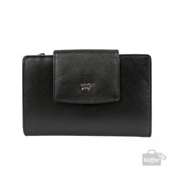 Braun Büffel Sofia Reißverschluss-Geldbörse M 15CS schwarz