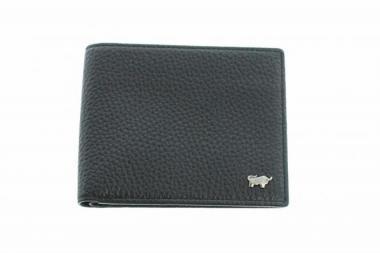 Braun Büffel TURIN Geldbörse ohne Münzfach 60103 schwarz
