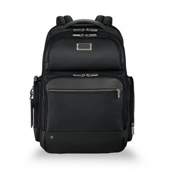 "Briggs & Riley Business Brief Large Cargo Backpack 17"" black"