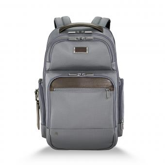 "Briggs & Riley Business Case Medium Cargo Backpack 15.6"" grey"