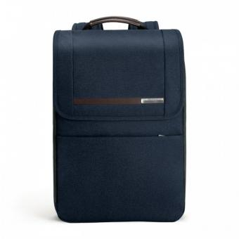"Briggs & Riley Kinzie Street Flapover Expandable Backpack mit Laptopfach 15.6"" Navy Blue"