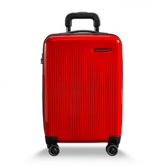 Briggs & Riley Sympatico International Carry-On Expandable 4-Rollen-Trolley Fire Red