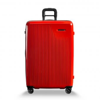 Briggs & Riley Sympatico Large Expandable Spinner Fire Red