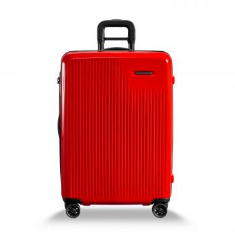 Briggs & Riley Sympatico Medium Expandable Spinner Fire Red