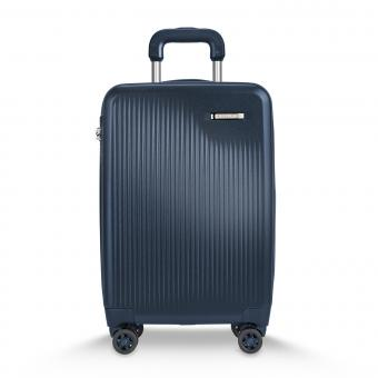 Briggs & Riley Sympatico International Carry-On Expandable 4-Rollen-Trolley Matte Navy