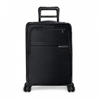 Briggs & Riley Baseline Domestic Carry-On Expandable Spinner Black