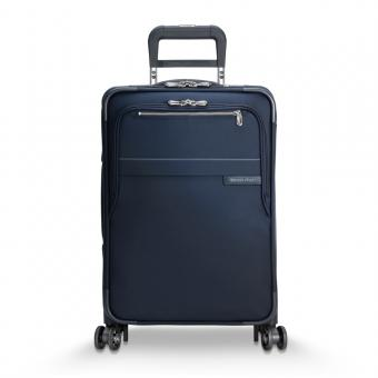 Briggs & Riley Baseline Domestic Carry-On Expandable Spinner Navy Blue