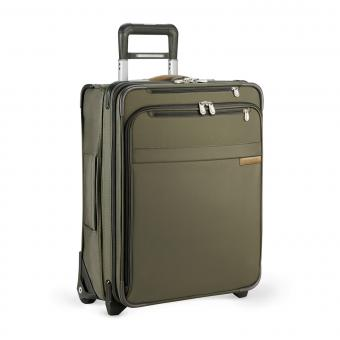 Briggs & Riley Baseline International Carry-On Expandable Wide-body Upright Olive