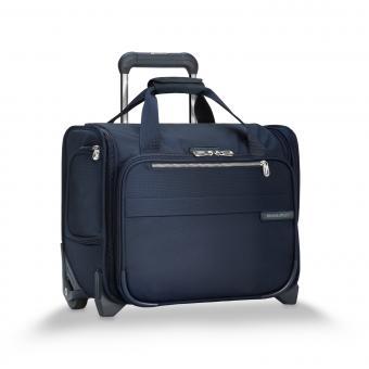 Briggs & Riley Baseline Rolling Cabin Bag Navy Blue