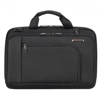 "Briggs & Riley Verb Connect Brief mit Laptopfach 15.6"" Black"