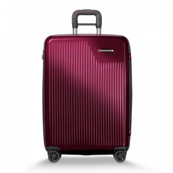 Briggs & Riley Sympatico Medium Expandable Spinner Burgundy
