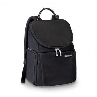 Briggs & Riley Sympatico Small U-Zip Backpack Onyx