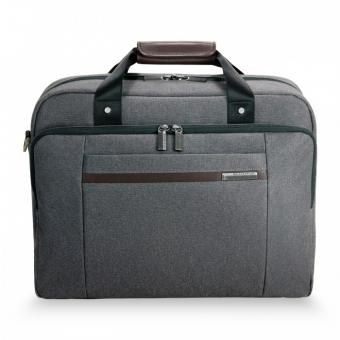 "Briggs & Riley Kinzie Street Cabin Bag mit Laptopfach 15.6"" Grey"