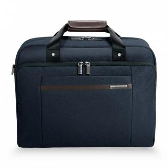 "Briggs & Riley Kinzie Street Cabin Bag mit Laptopfach 15.6"" Navy Blue"