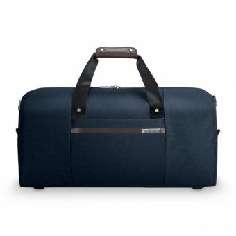 Briggs & Riley Kinzie Street Simple Duffle Navy Blue