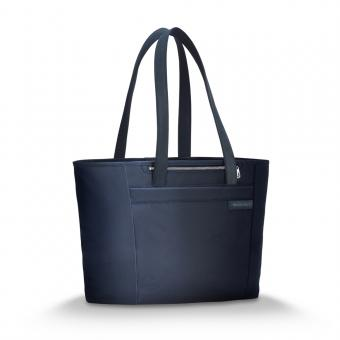 Briggs & Riley Baseline Large Shopping Tote navy blue
