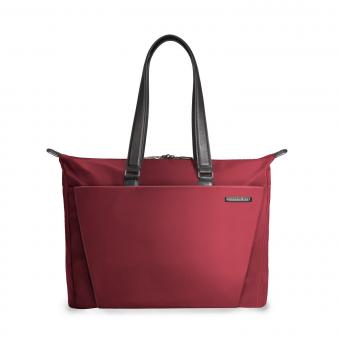 Briggs & Riley Sympatico Shopping Tote Burgundy