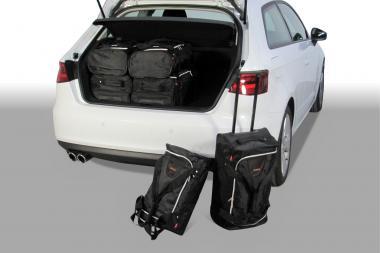 Car-Bags Audi A3 (8V) Reisetaschen-Set ab 2012 | 3x47l + 3x29l