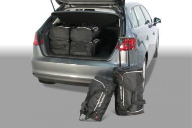 Car-Bags Audi A3 Sportback (8V) Reisetaschen-Set E-Tron ab 2014 | 3x47l + 3x29l