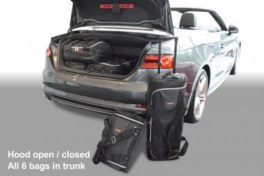 Car-Bags Audi A5 Cabriolet Reisetaschen-Set (F5) ab 2017 | 3x44l + 3x23l