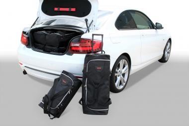 Car-Bags BMW 2 series Coupé Reisetaschen-Set (F22) ab 2014 | 3x52l + 3x30l