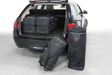 Car-Bags BMW 5 series Touring Reisetaschen-Set (F11) 2011-2017 | 3x70l + 3x43l