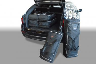 Car-Bags BMW 5 series Touring Reisetaschen-Set (G31) ab 2017 | 3x74l + 3x46l