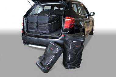 Car-Bags BMW X3 series Reisetaschen-Set (F25) 2010-2017 | 3x81l + 3x46l