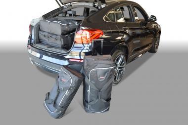 Car-Bags BMW X4 series Reisetaschen-Set (F26) ab 2014 | 3x81l + 3x46l
