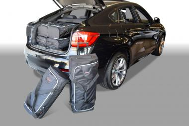 Car-Bags BMW X6 series Reisetaschen-Set (F16) ab 2014 | 3x70l + 3x43l
