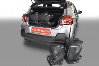 Car-Bags Citroën C3 Reisetaschen-Set 5T ab 2016 | 3x55l + 3x26l